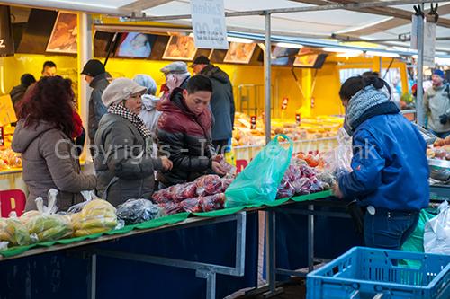 Fruit kopen op de markt
