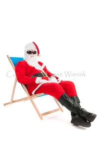 Santa Claus on vacation