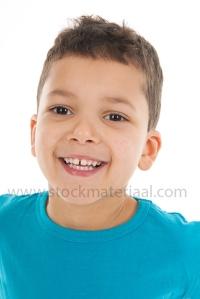 Portrait boy five years old