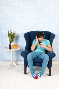 Listening to music with the smart phone