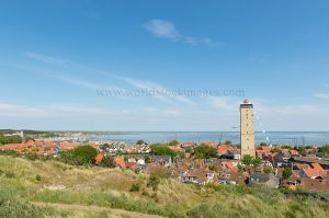 Village West-Terschelling in the Netherlands