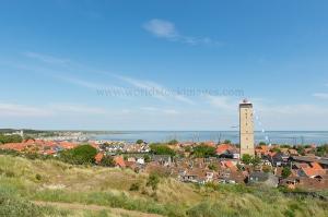 Village West-Terschelling in the Netherlands