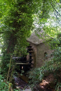 Water mill in Dutch estate