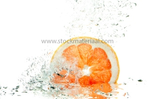 Fresh grapefruit splash